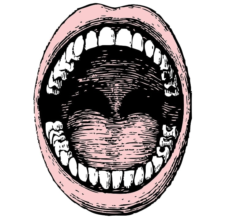 Boca abierta
