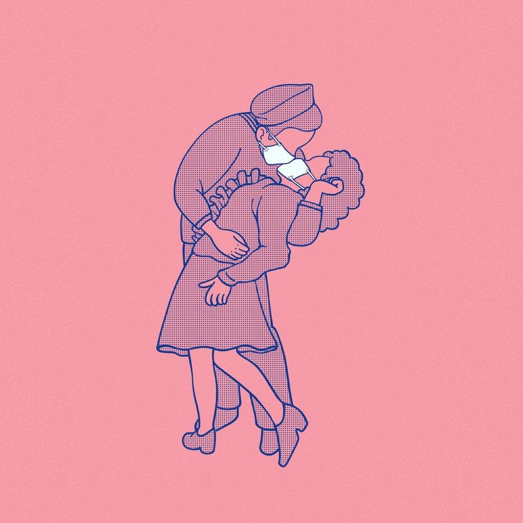 Mascarillas beso