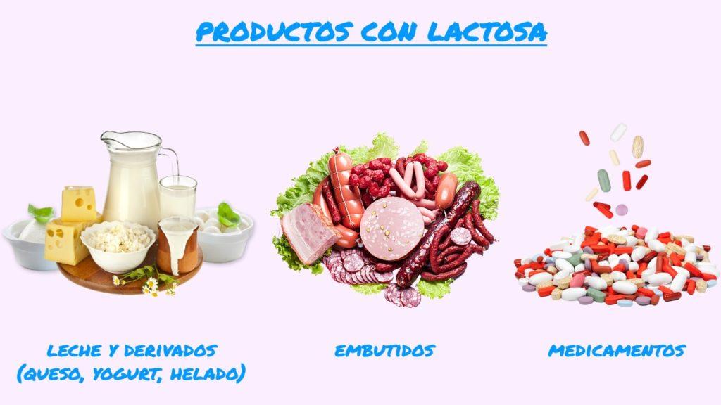 Productos lactosa