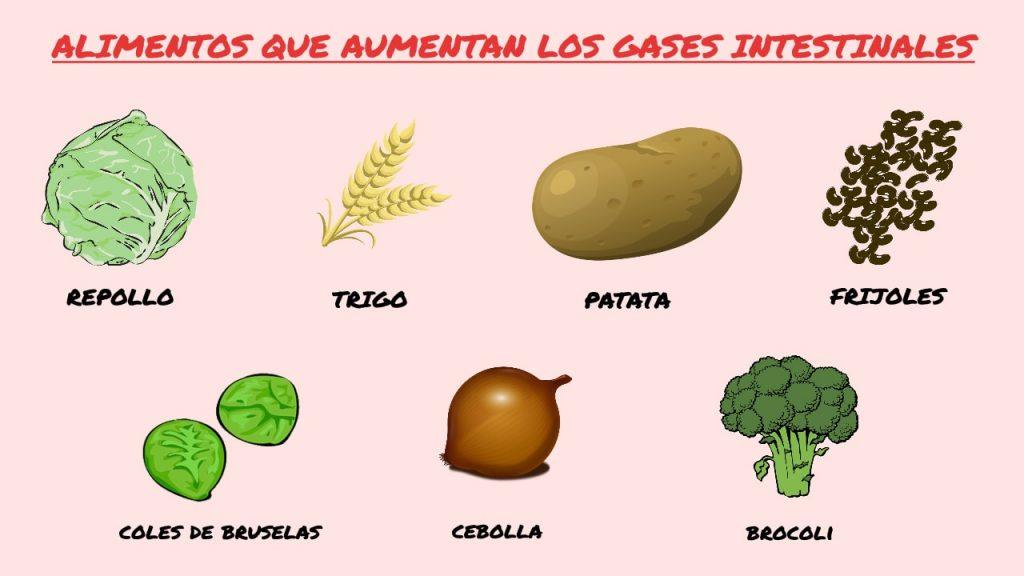 alimentos evitar pedos
