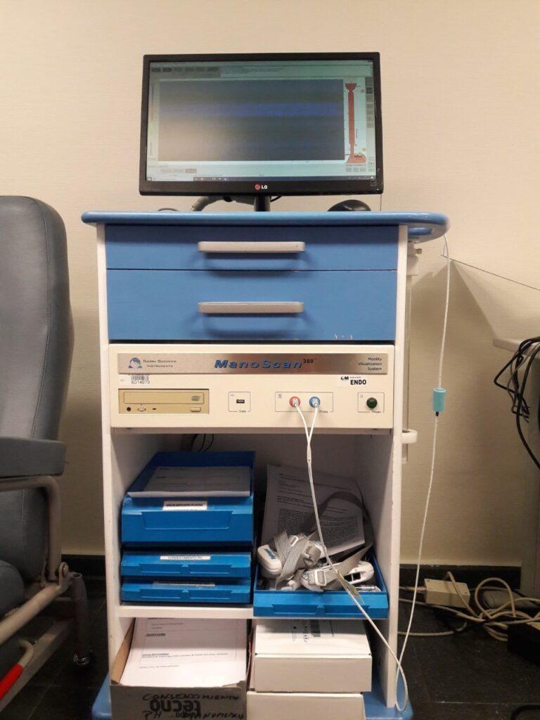 Equipo manometria esofagica