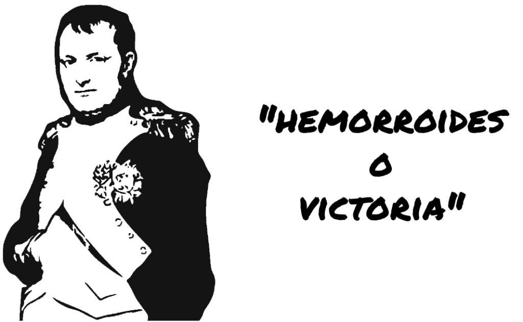 napoleon hemorroides